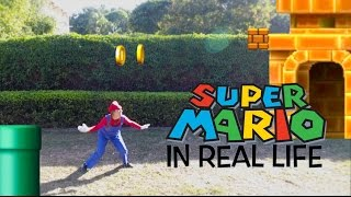 SUPER MARIO IN REAL LIFE!!