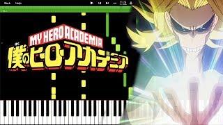 YOU SAY RUN - Boku No Hero Academia OST (Piano Tutorial) [Synthesia]
