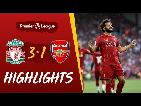 Download Video Highlights: Liverpool Vs Arsenal | Salah At The Double Against The Gunners