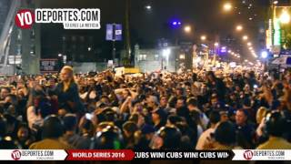 Cubs Win World Series 2016 Wrigley Field