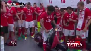 ELISEU celebra o TETRACAMPEÃO DE MOTA - Benfica 2017