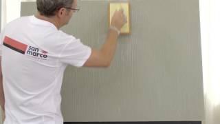 San Marco FORMA - Efect Betulla (video aplicare in limba italiana)