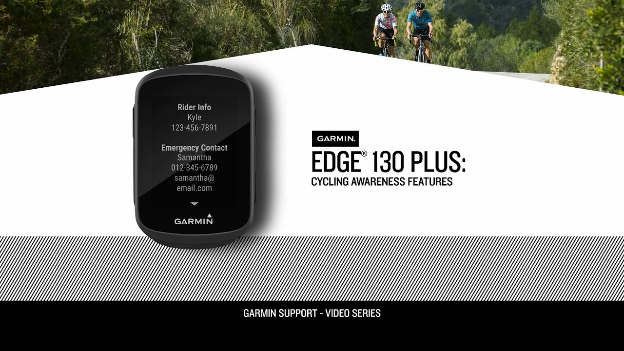Edge 130 Plus: Cycling Awareness Features
