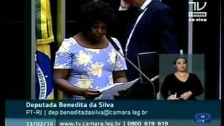 Dep. Benedita da Silva (PT-RJ) reafirma a importância dos Direitos Humanos no Brasil