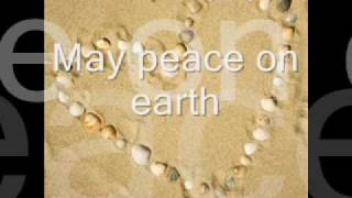 May peace on earth