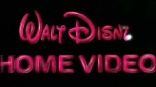 1986 Walt Disney Home Video Logo ( A.K.A. Sorcerror Mickey )