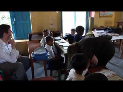 Volunteers Teach English at School in Pokhara, Nepal