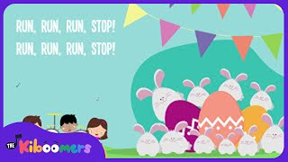Ten Bunnies Counting Song 1-10 | Easter Song | Lyrics | Easter Bunny | Kids Song