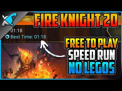 "Fire Knight 20 ""Free To Play"" SPEED RUN !! | NO LEGENDARIES !! | RAID: Shadow Legends"