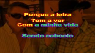 Amaury e César Rey - Minha Canção Preferida - karaoke
