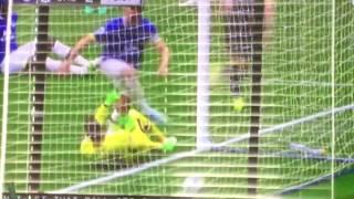 Chelsea 2-0 Everton (Gooool CAHILL) Assist from HAZARD