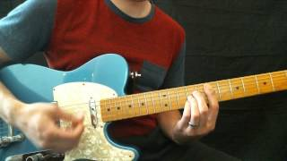 Hillsong Young and Free Brighter Lead Guitar Tutorial