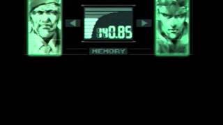 Metal Gear Solid - A mono TV?