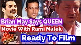 Queen Movie Ready To Go With Rami Malek As Freddie Mercury Says Brian May