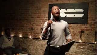 Comedic Poet I'Wante Diamond @ The Inspired Word's NYC Open Mic Joint