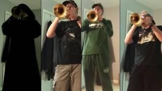 War - Hypnotic Brass Ensemble [Trumpet Cover] (hunger games version)