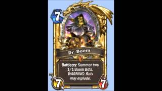 Dr. Boom Sound Effects - Hearthstone