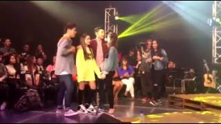 ANDREA BRILLANTES and DARREN ESPANTO (ANDREN) MOMENTS AT #ONEMUSICDARREN
