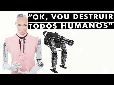 5 coisas mais ASSUSTADORAS ditas por robôs