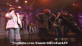 "The Fugees, Tribe Called Quest, Busta Rhymes - ""Rumble In The Jungle"" (Live) 1996"