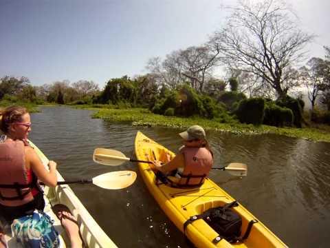 Kayak trip on Lake Nicaragua