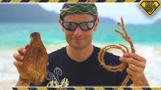 Did You Know You Can Turn Coconuts Into Rope?