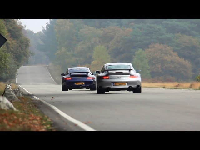 Edo Competition Porsche 996 GT2 + 996 GT2 + 997 Turbo - Accelerations!!