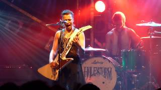 """Halestorm - """"Out Ta Get Me"""" (Guns N Roses cover) - Electric Ballroom, London - 8th March 2013"""