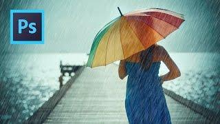 Rain Effect - Photoshop CS6 Tutorial