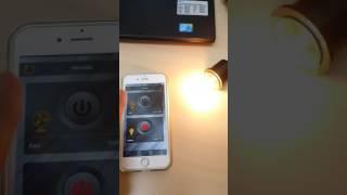Iphone 6 điều khiển thiết bị điện 220VAC trong vòng 2s