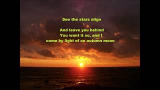 Broken Bells October Lyrics
