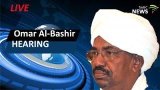 Omar al-Bashir case hearing in SCA, 12 February 2016 width=