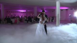 First wedding dance - John Legend 'All Of Me' Foxtrot-Bachata remix played live by Grupa Status