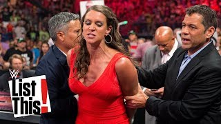 McMahon family's shocking arrests: WWE List This!