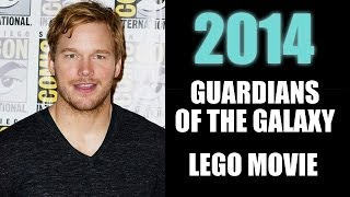 Guardians of the Galaxy, The Lego Movie : Chris Pratt 2014 - Beyond The Trailer