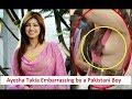 Ayesha Takia Embarrassing by Pakistani Boy during live TV Show
