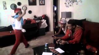 Malik, Myiah, QQ, Drez, and Arianna do the Harlem Shake