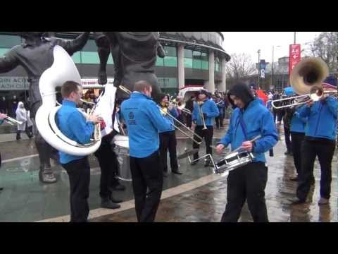 England Rugby BAND ( vs South Africa) Twickenham QBE