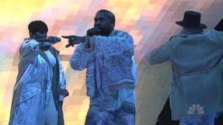 Kanye West 'SNL' MELTDOWN LEAKED