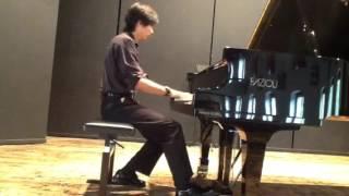 Justin Lue  performs Kreisler-Rachmaninoff: Liebesleid