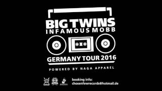 Big Twins (Infamous Mobb) ► (Germany Tour 2016 ) ►Powered by: NagaApparel