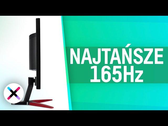 NAJTAŃSZY MONITOR 165Hz? 📺 | Test, recenzja Acer KG241Q za około 700 złotych!