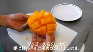 アップルマンゴー美味しい食べ方・切り方(石垣島産)