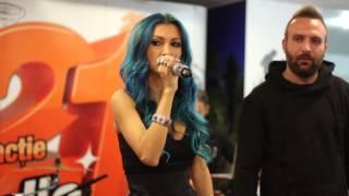 Andreea Balan feat  Cortes - Rece (LIVE @ RADIO 21)