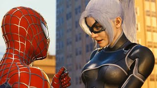 Spider-Man PS4 -Raimi Suit-Black Cat Returns to Save Spider-Man and Call it even
