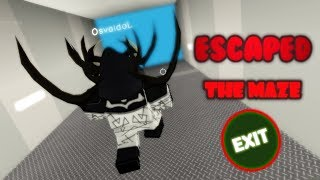 ROBLOX - The Labyrinth [Maze Runner]: Finding the Escape