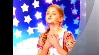 Moldova are Talent cea mai talentata fetita 'Spune ne, ştii vreo poezie si in romana'