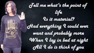 Sleeping With Sirens - Alone featuring MGK (Lyrics)
