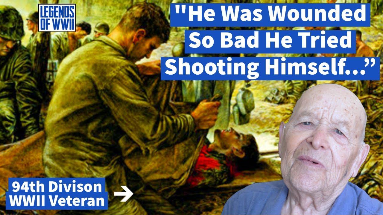 WWII Veteran Describes His Traumatic Frontline Experiences