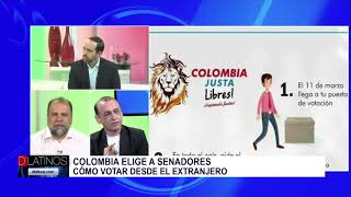 Entrevista a candidato al senado de Colombia y cómo votar desde el extranjero